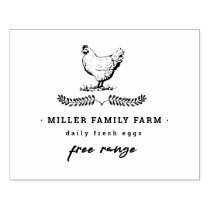 Vintage Farm | Egg Carton Stamp