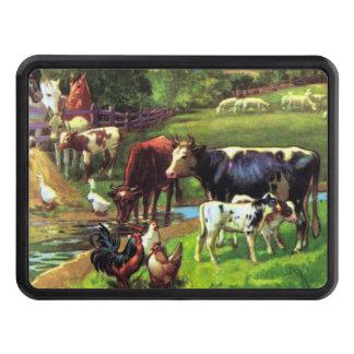 Vintage Farm Hitch Cover