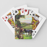 Vintage Farm Playing Cards at Zazzle