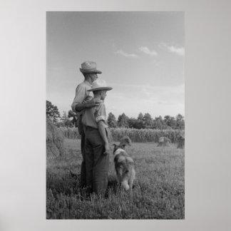 Vintage Farm Security Administration Print