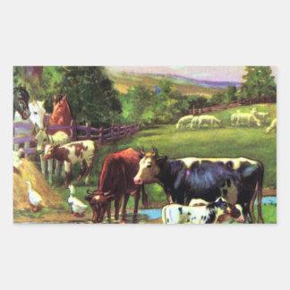 Vintage Farm Stickers