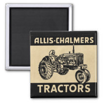 Vintage Farm Tractor Magnet