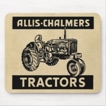 Vintage Farm Tractor Mouse Pad