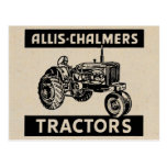 Vintage Farm Tractor Post Cards