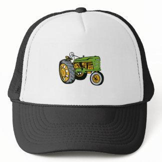 Vintage Farm Tractor Side View retro Trucker Hat