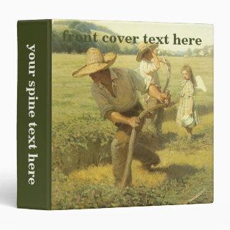 Vintage Farmers, Back to the Farm by NC Wyeth Vinyl Binders