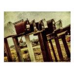 Vintage Farmhouse/Country Mailboxes Postcard