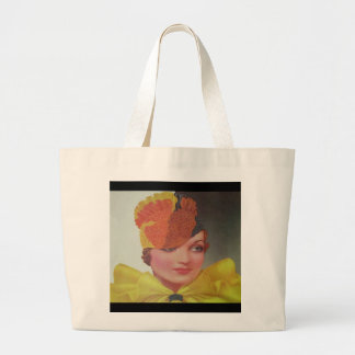 Vintage Fashion 1933 Jumbo Tote Bag