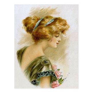 Vintage Fashion (9) Postcards
