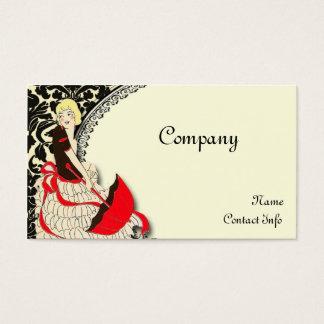 Vintage Fashion Business Card