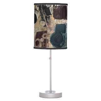 Vintage fashion Grunge Retro Camera Desk Lamp