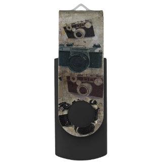 Vintage fashion Grunge Retro Camera USB Flash Drive