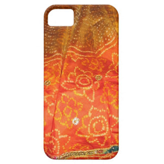 Vintage Fashion : Jaipur Print Gold with Zari Work iPhone SE/5/5s Case