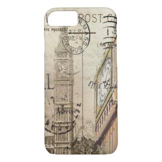 vintage fashion london landmark big ben iPhone 7 case