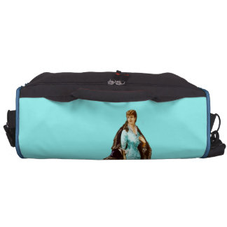 Vintage Fashion with Personalized Text Laptop Computer Bag