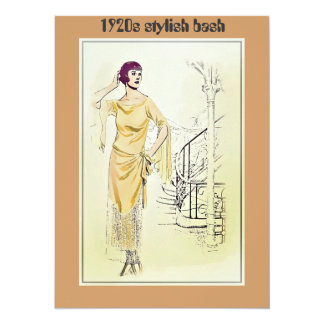 Vintage Fashionista_Lounging Robe_1920s Card