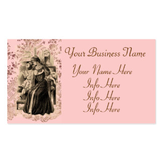 Vintage Fashions 1900 Business Card Template