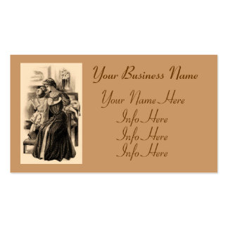Vintage Fashions 1900 Business Cards