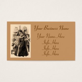 Vintage Fashions 1900 Business Card