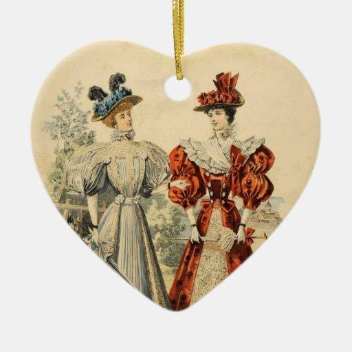 Vintage fashions Ornament