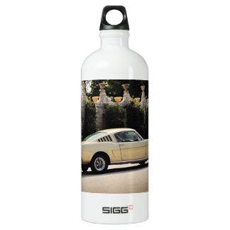 Vintage Fastback 1965 Mustang 2+2 Honey Gold Aluminum Water Bottle