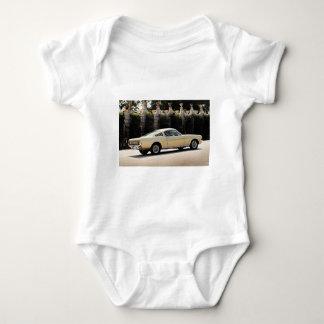 Vintage Fastback 1965 Mustang 2+2 Honey Gold Baby Bodysuit