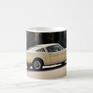 Vintage Fastback 1965 Mustang 2+2 Honey Gold Coffee Mug