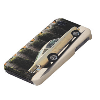 Vintage Fastback 1965 Mustang 2+2 Honey Gold iPhone 4 Cases