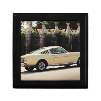 Vintage Fastback 1965 Mustang 2+2 Honey Gold Jewelry Box