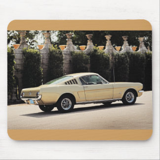 Vintage Fastback 1965 Mustang 2+2 Honey Gold Mouse Pad
