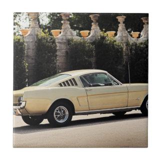 Vintage Fastback 1965 Mustang 2+2 Honey Gold Tile