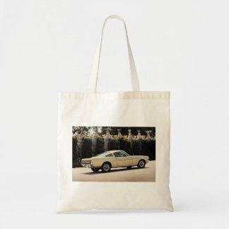 Vintage Fastback 1965 Mustang 2+2 Honey Gold Tote Bag