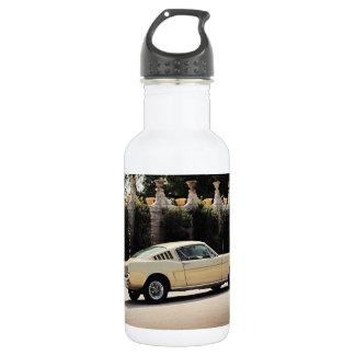 Vintage Fastback 1965 Mustang 2+2 Honey Gold Water Bottle