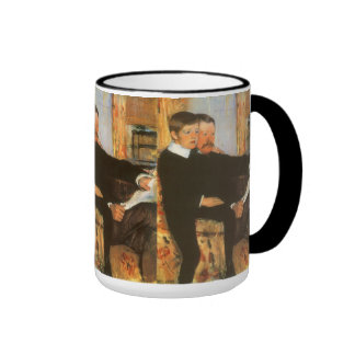 Vintage Father and Son Family Portrait by Cassatt Mug