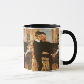 Vintage Father and Son Portrait by Mary Cassatt Mug