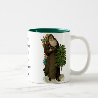Vintage Father Christmas Mug