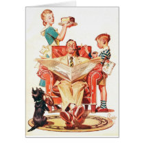 Vintage Fathers Day Card