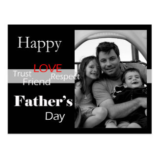 Vintage Father's Day - Customized Postcard