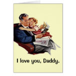 Vintage Father's Day Greeting Card