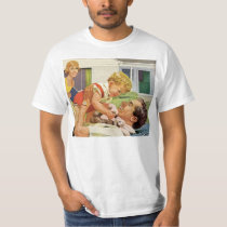 Vintage Father's Day, Happy Dad and Son Boy T-Shirt