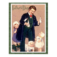 Vintage Father's Day Post Card
