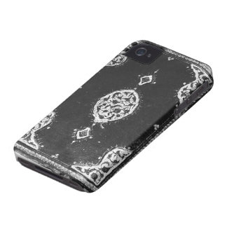 Vintage faux leather embellished book cover blackberry bold cover