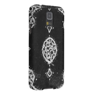 Vintage faux leather embellished book cover galaxy nexus cases