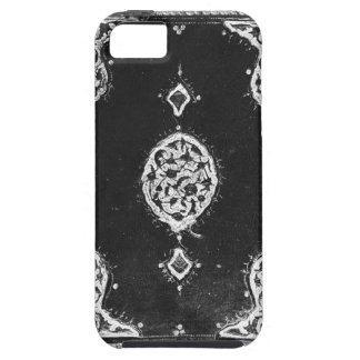 Vintage faux leather embellished book cover iPhone 5 cases