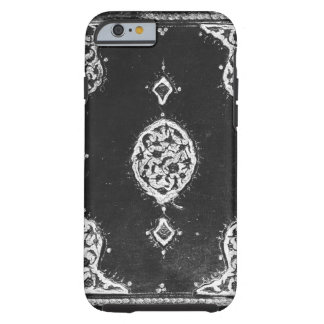 Vintage faux leather embellished book cover iPhone 6 case