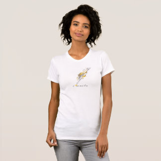 Vintage Feather Quill Pen Custom Writer T-Shirt