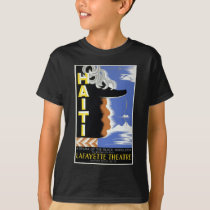 Vintage Federal Theatre Project Haiti Harlem WPA T-Shirt