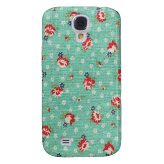 Vintage Feed Sack Galaxy S4 Cases