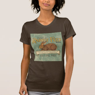 Vintage Feed Sack, Rabbit Feed T-Shirt
