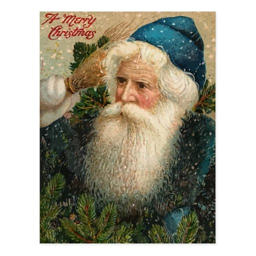 Vintage Felices Navidad Postales